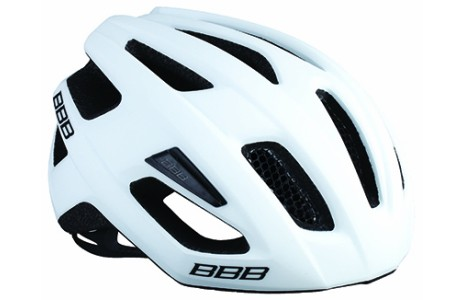 Helm BBB Kite, mat wit, M